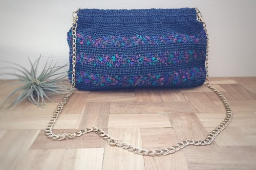 エコアンダリヤで編む2wayバッグ 6,000円