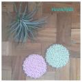 【Kit】リフ編みのコースター