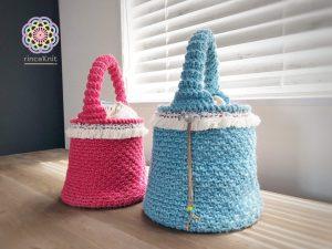 編み 簡単 かぎ針 バッグ