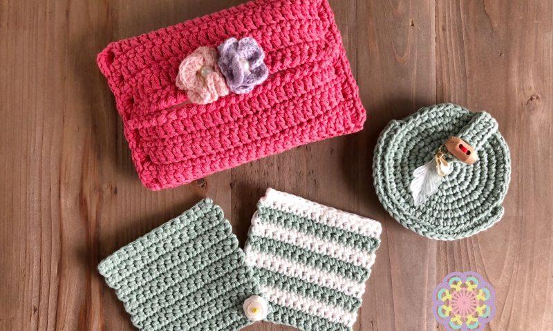 かぎ針編み初めて